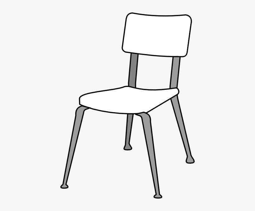 White Classroom Chair Clip Art At Clker - Chair Clipart ...