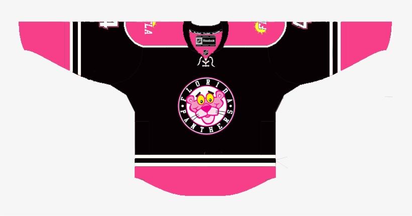 size 40 8f83b ef697 Img] - Florida Panthers Pink Jersey - Free Transparent PNG ...