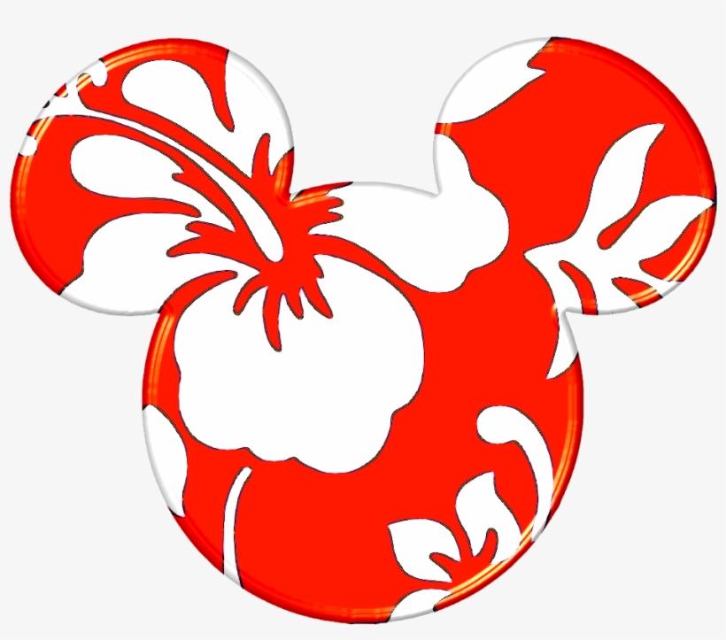 Disney Mickey Ears - Hawaiian Mickey Mouse Head, transparent png #1919565