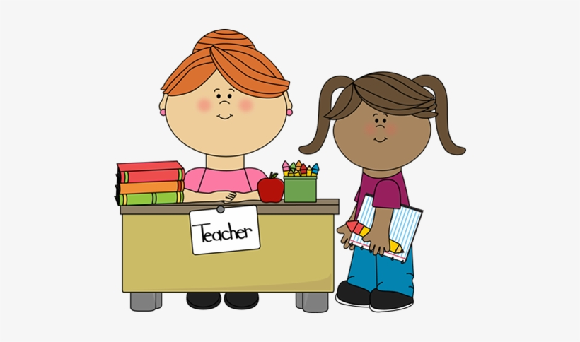Teaching Assistant Clipart Student And Teacher Clipart Free Transparent Png Download Pngkey