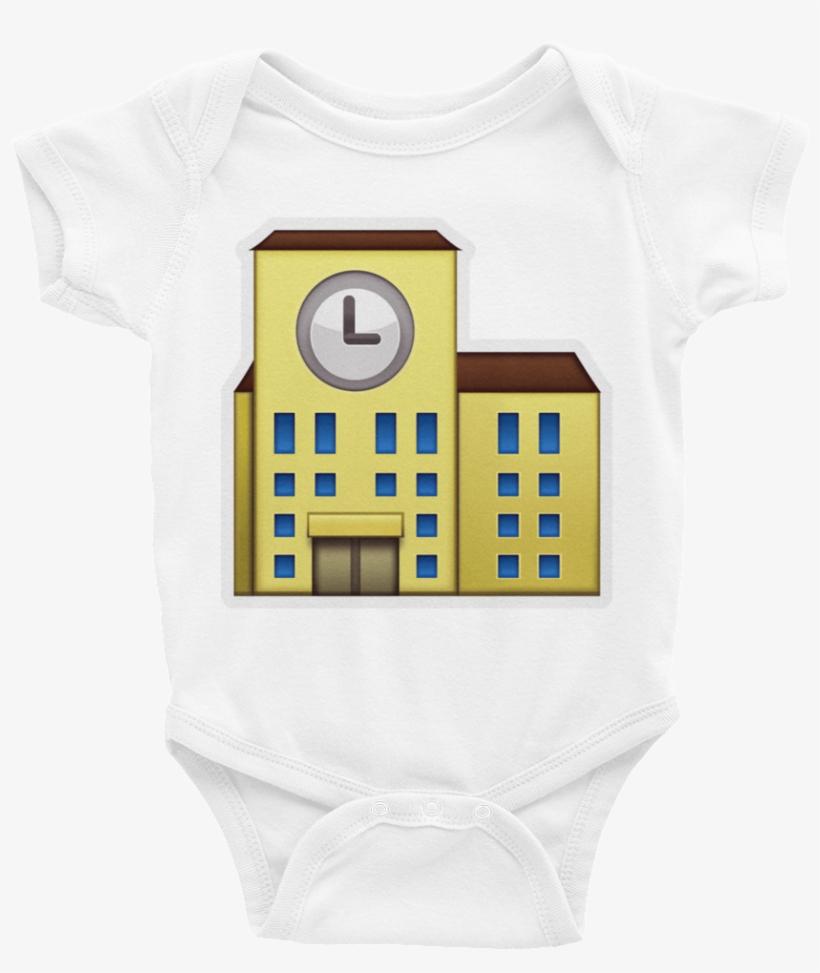 Emoji Baby Short Sleeve One Piece - Emojis School Png Iphone, transparent png #1921136