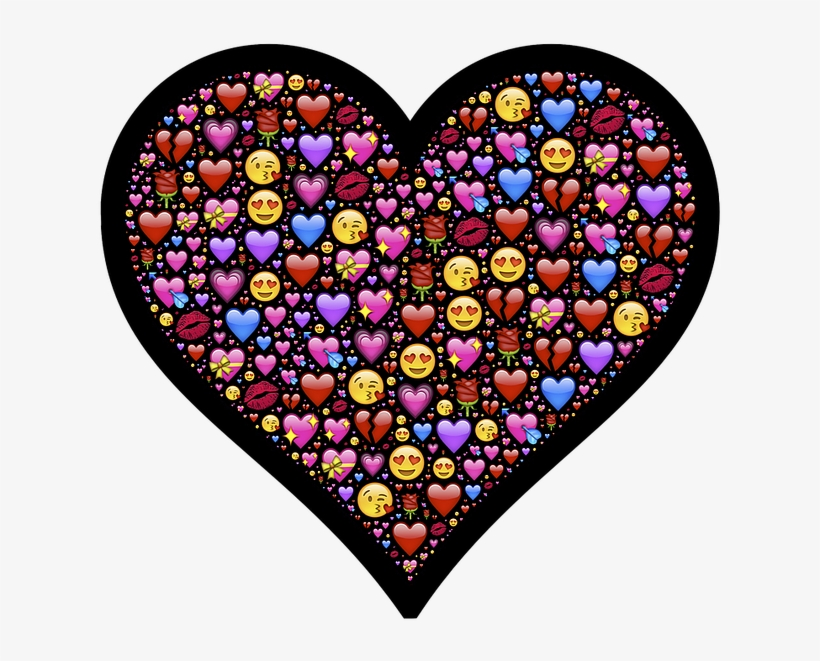 Heart, Emoji, Affection, Love, Attraction, Emotion, - Heart And Love Emojis, transparent png #1921515