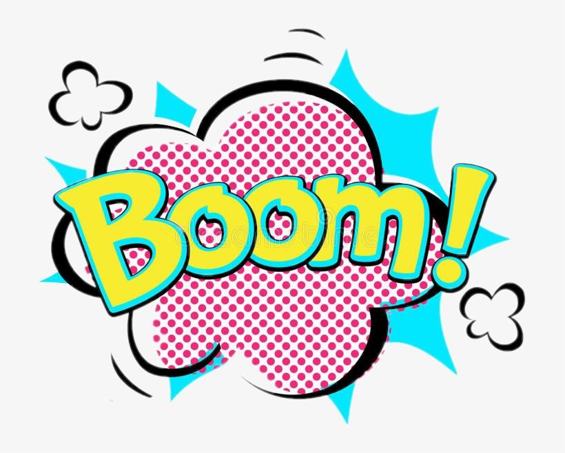 Boom Comic Speechbubble Emoji Words - Boom Speech Bubble, transparent png #1923207
