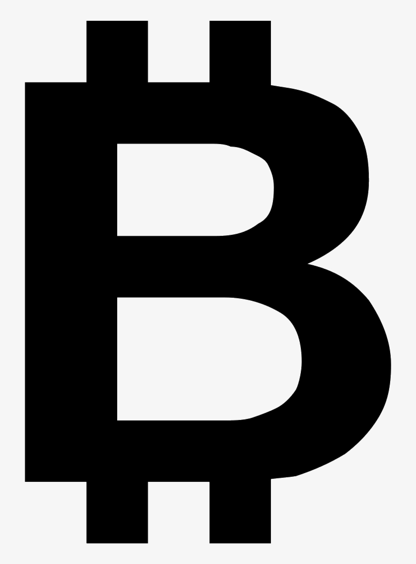 Svg Black And White Library Bitcoin Icon Free Download Bitcoin B Logo Png Free Transparent Png Download Pngkey