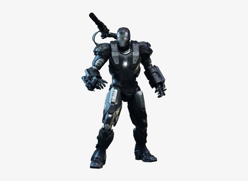 Hot Toys Iron Man 2, War Machine, Diecast - Hot Toys Iron Man 2 War Machine 1:6th Scale Figure, transparent png #1923832