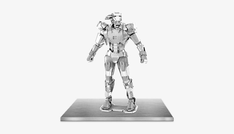 Picture Of Marvel - 3d Metal Model War Machine, transparent png #1923900
