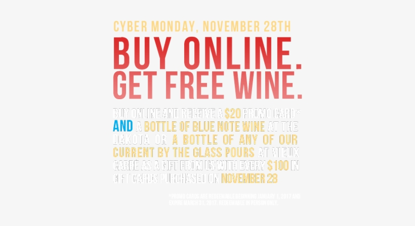 Buy Online, Get Free Wine On Cyber Monday - Talk To You My Day Gets A Whole Lot Better, transparent png #1924220
