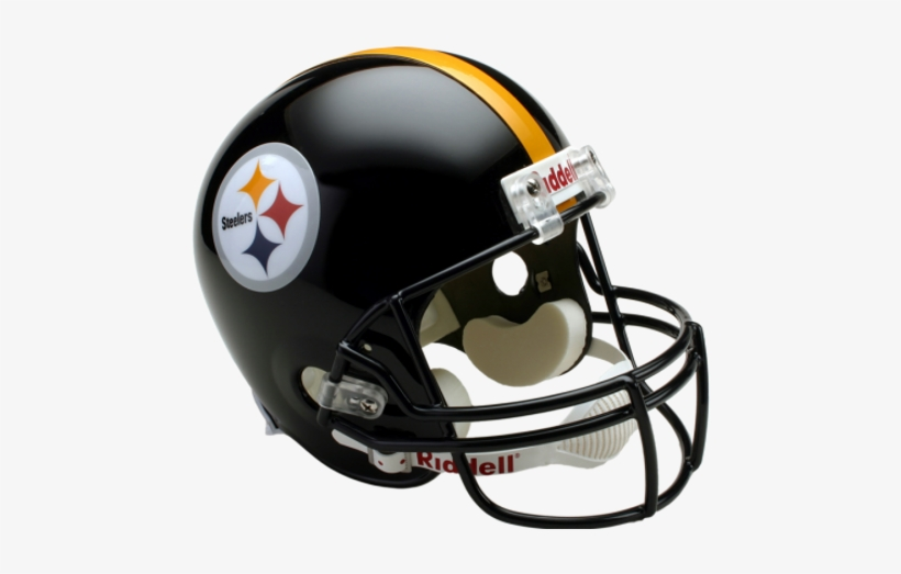 Pittsburgh Steelers Riddell Full Size Replica Nfl Helmet, transparent png #1924453