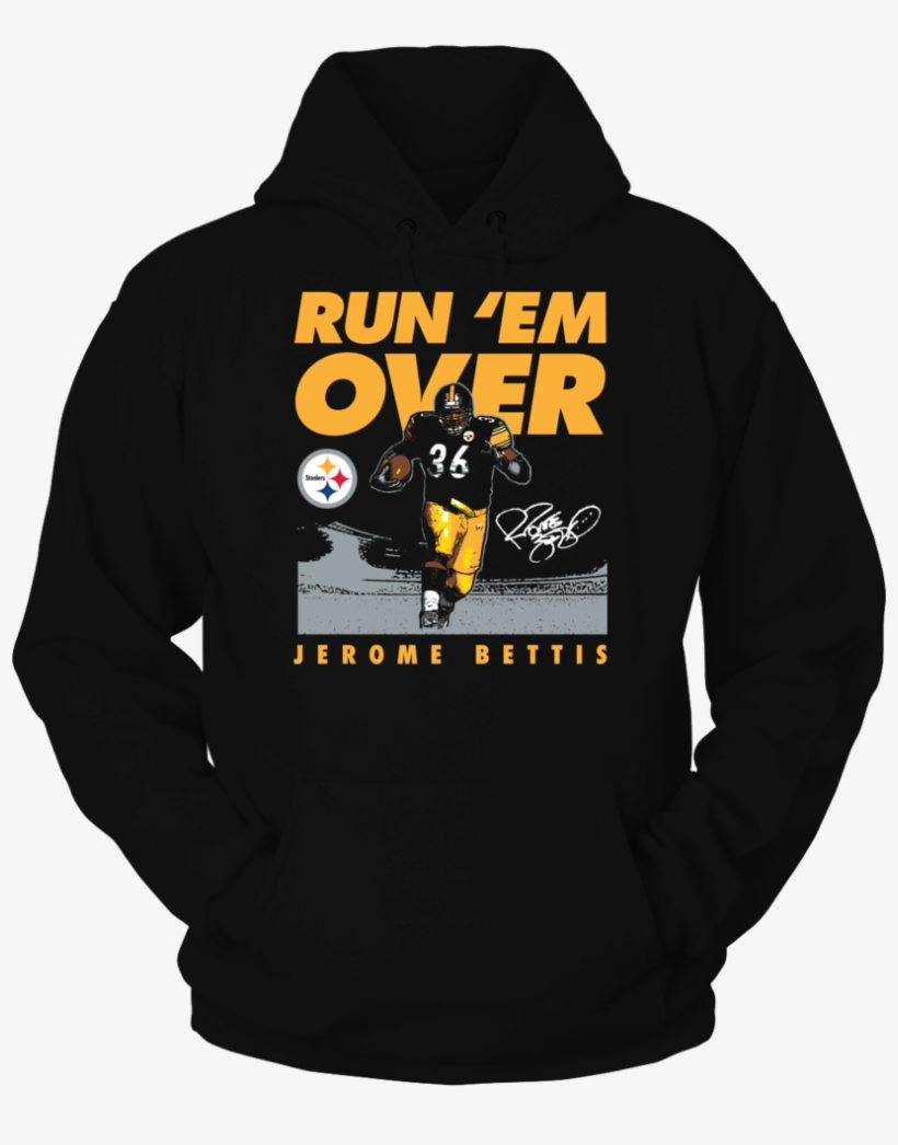 Run 'em Over Jerome Bettis T-shirts & Gifts - Tennessee Tech Golden Eagle, transparent png #1924766