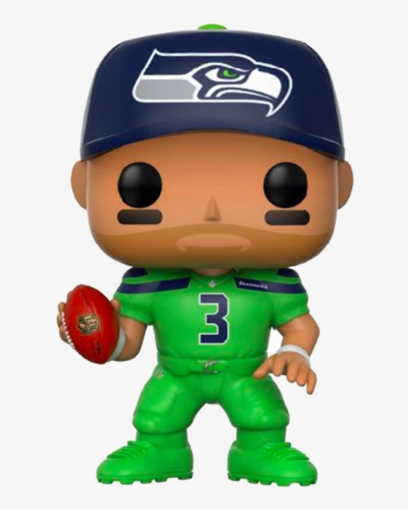 Funko Pop Nfl Wave 1 Marshawn Lynch Action Figures - Russell Wilson Funko Pop, transparent png #1927398