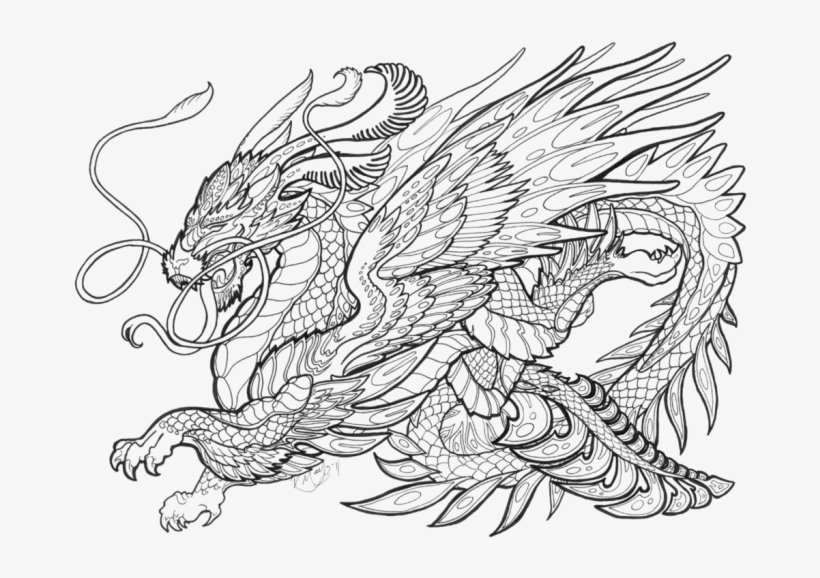 28 Collection Of Mythical Creatures Coloring Pages - Mythical Creatures Coloring Pages For Adults, transparent png #1928957