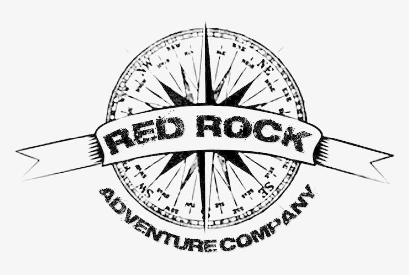 Red Rock Compass Logo Transparent - Compass Rose Rolled Canvas Art - (24 X 36),, transparent png #1929473