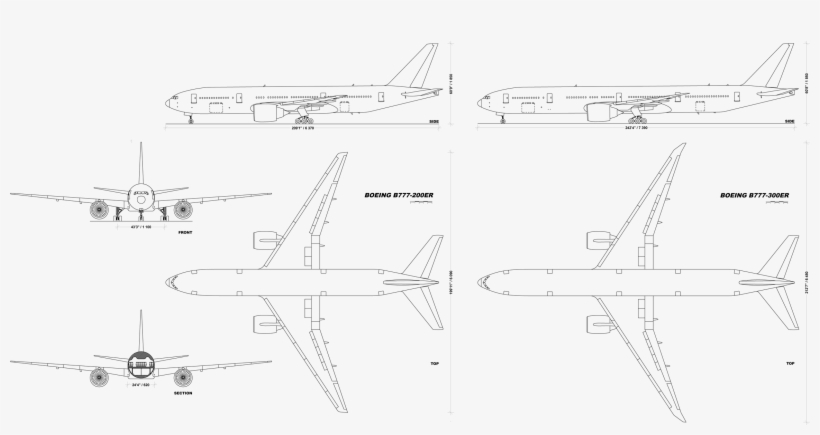 Boeing 777 Diagram