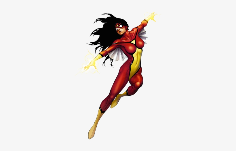 Spider-woman Marvel Xp - Spider-woman, transparent png #1931010