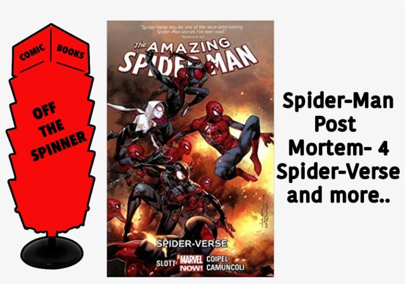 Courtesy Marvel Comics - Amazing Spider-man Volume 3: Spider-verse, transparent png #1931778