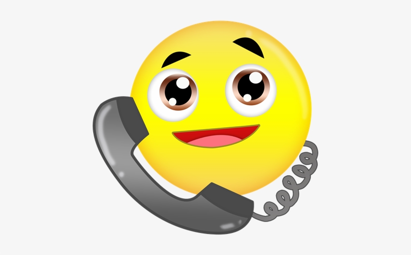 Free On Dumielauxepices Net - Emoji On The Phone - Free Transparent