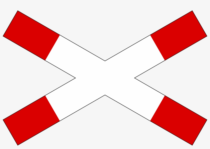 Singapore Road Sign - Level Crossing, transparent png #1939259