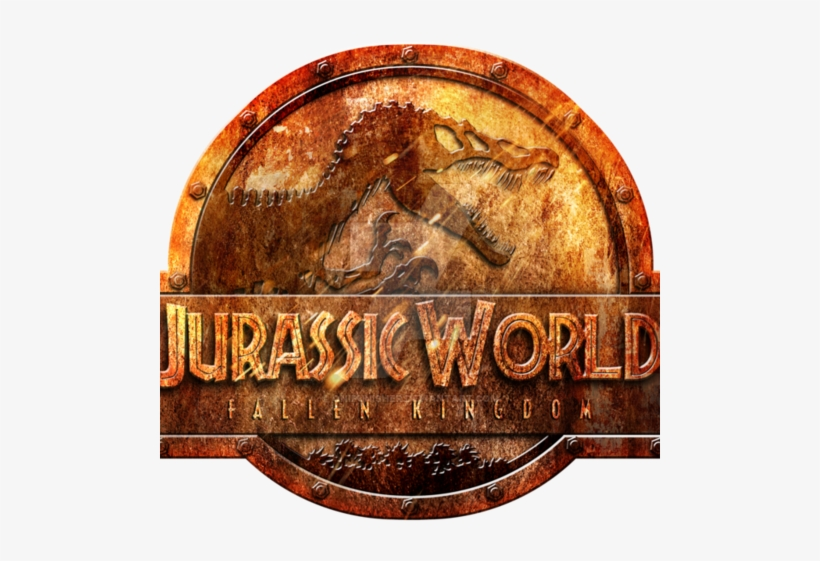 Default Logo Jurassic World Fallen Kingdom Rusted By - Jurassic World Fallen Kingdom Logo, transparent png #1943324