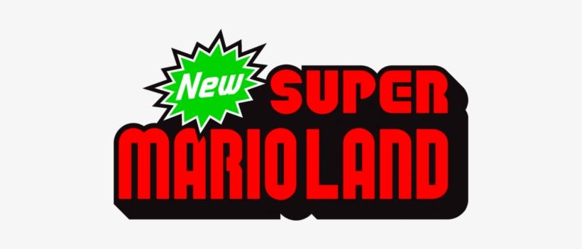 New Super Mario Land Logo New Super Mario Bros Wii Free