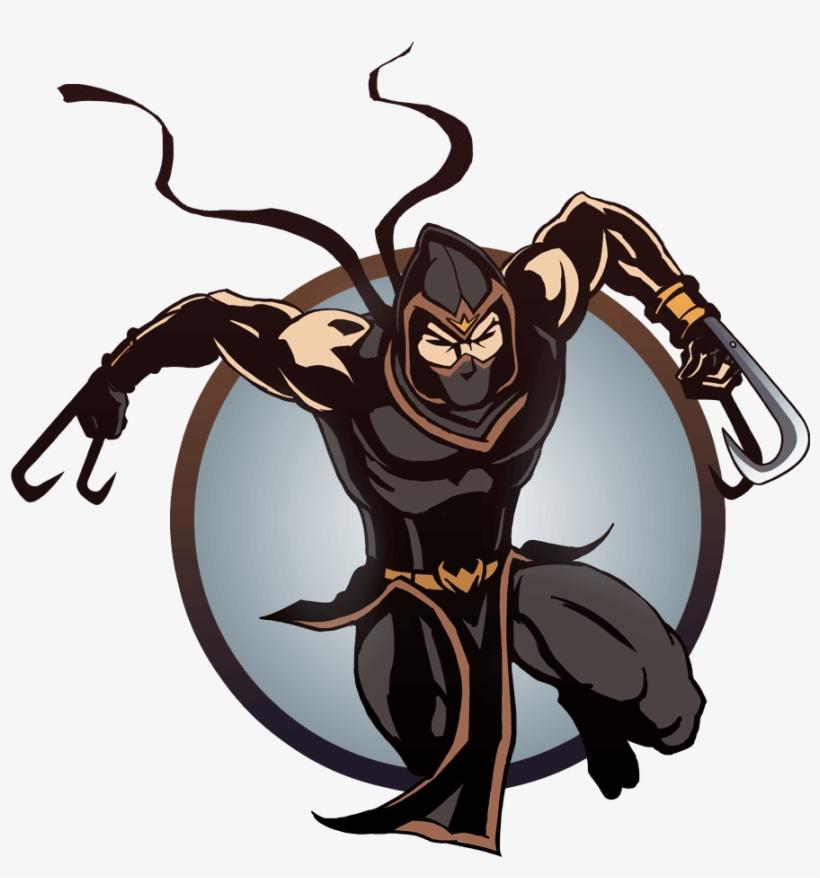 Ninja Man Claws Game Ninja Shadow Fight Free Transparent Png Download Pngkey