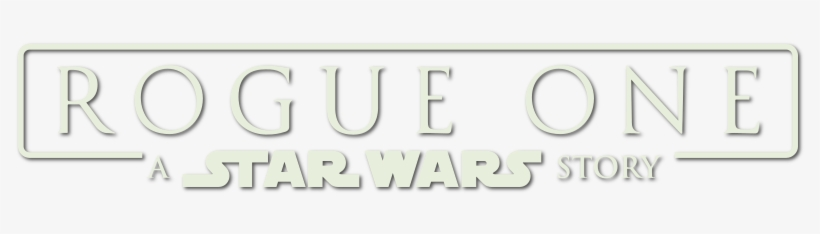 Star Wars Rogue One Logo Png, transparent png #1944920