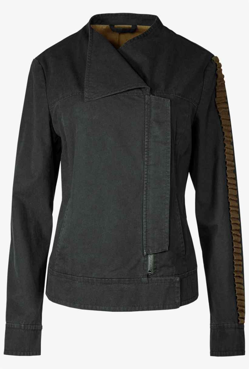 Original Replica Of Jyn Erso's Jacket In Rogue One - Musterbrand Inc. Star Wars: Rogue One Jyn Ladies' Jacket, transparent png #1945050