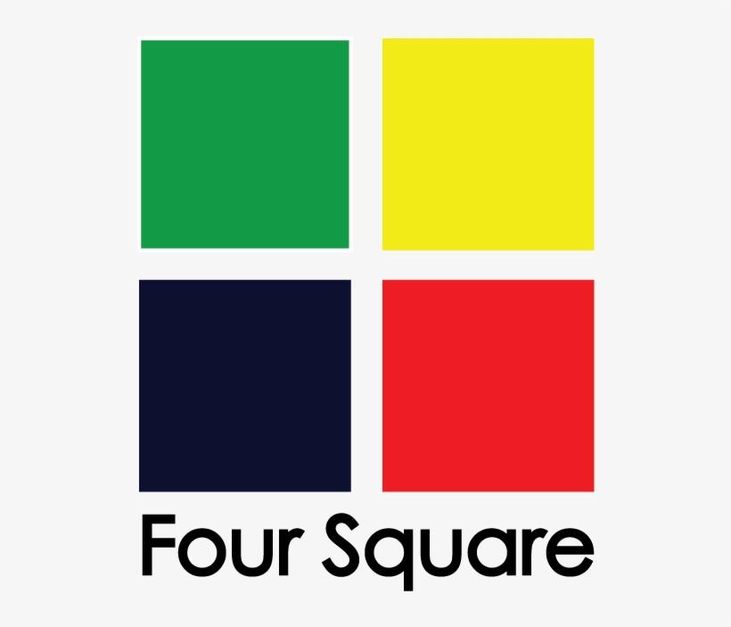 Logo Four Square - 4 Square T Shirt Logo, transparent png #1946452