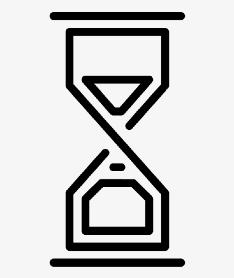 Sand Clock Vector Blue Hourglass Gif Icon Free