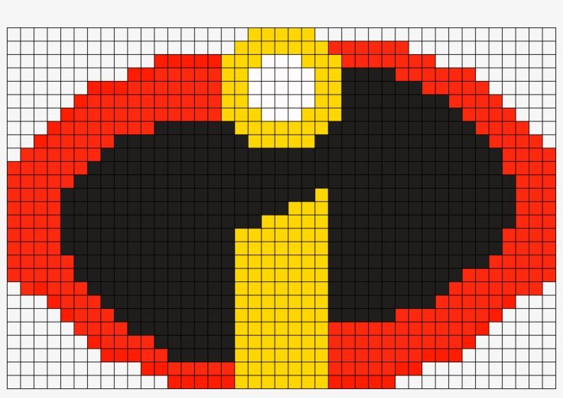 The Incredibles Logo Perler Perler Bead Pattern Bead Simple