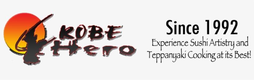 Header Logo Address - Kobe Hero Japanese Steak And Sushi Bar, transparent png #1948896