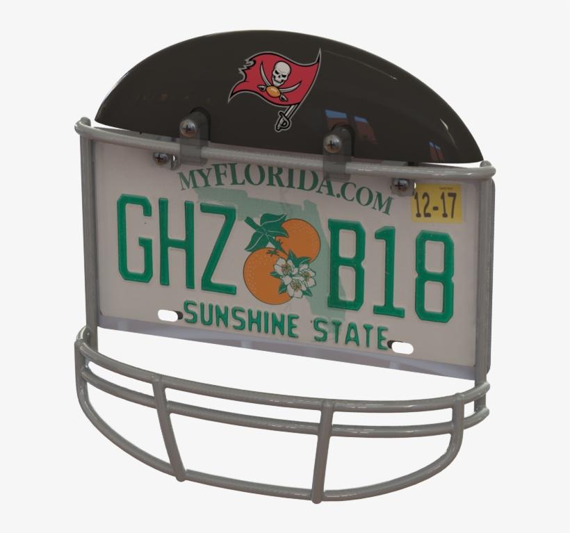 Tampa Bay Buccaneers Helmet Frame - Tampa Bay Buccaneers, transparent png #1951687