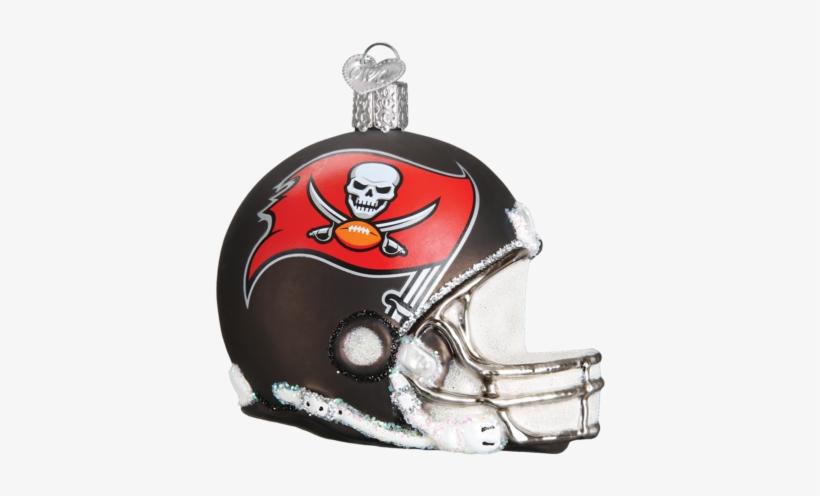 Tb Buccaneers Helmet Ornament - Tampa Bay Buccaneers Nfl Football Helmet Glass Ornament, transparent png #1951793