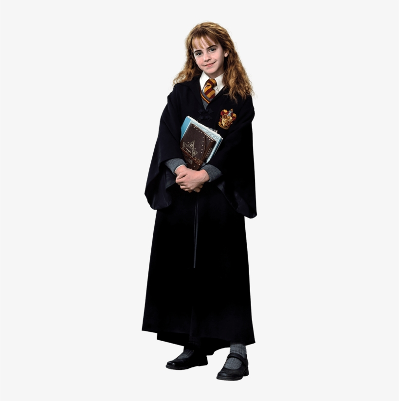 Young Hermione Granger In Robe Holding Books Harry - Harry Potter Hermione Granger Poster Puzzle, transparent png #1954447