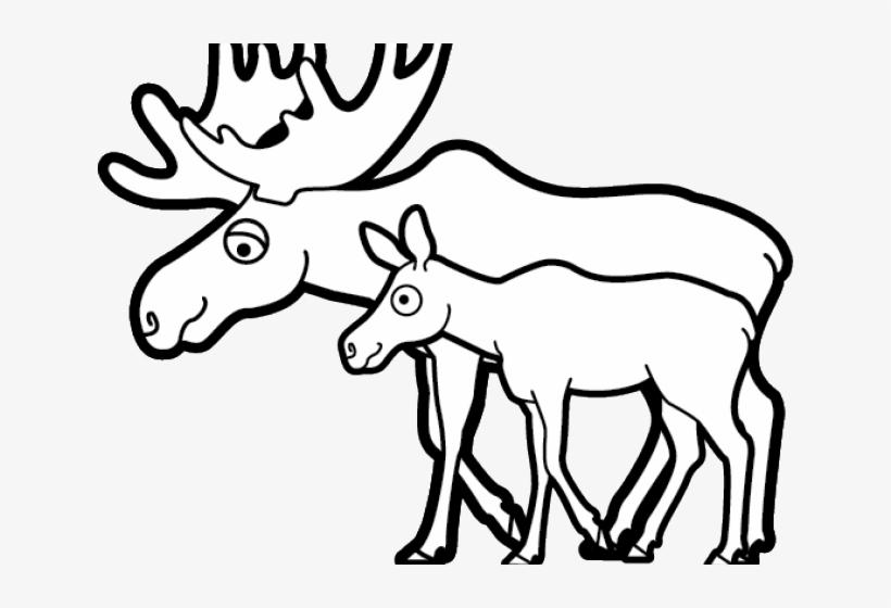 Moose Clipart Mascot