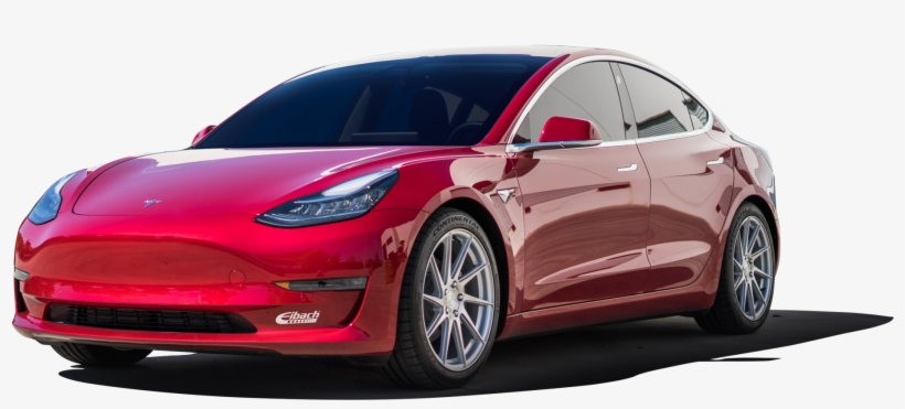 2018 Tesla Model - 2018 Tesla Model 3 Long Range, transparent png #1957383