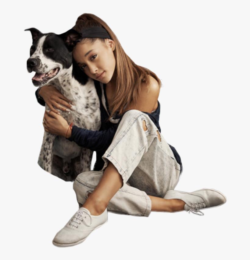 Ariana Grande Clipart Dog - Ariana Grande Sitting Png, transparent png #1957562
