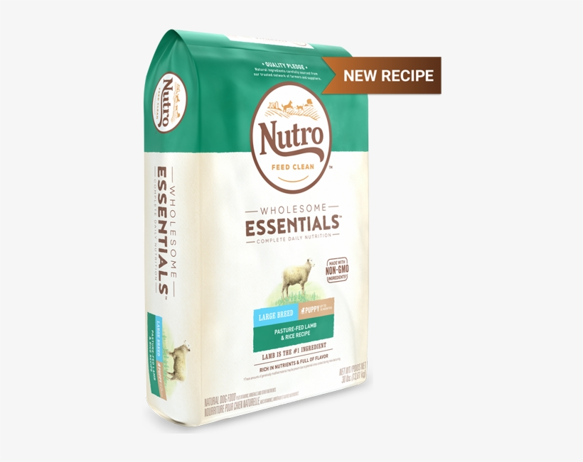 10157655 Nutro Dry Dog - Lamb And Rice Food For Large Breed Puppies, transparent png #1958129