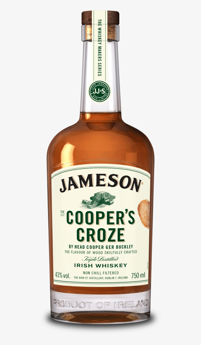Wood Is Important In Whiskey, And That's Why With This - Jameson Cooper Croze Whiskey, transparent png #1959247