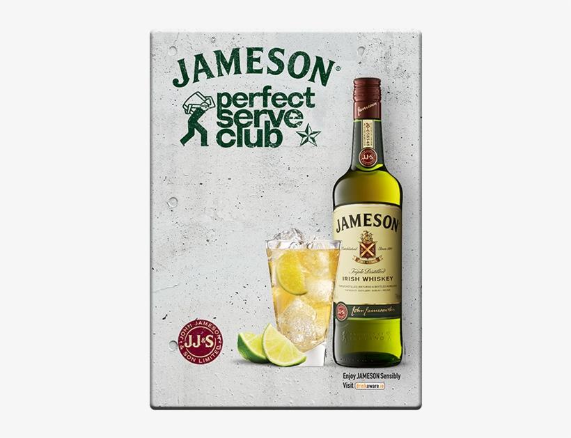 Jameson Perfect Serve Club - Jameson Original Irish Whiskey 12x 5cl Miniature Pack, transparent png #1959407