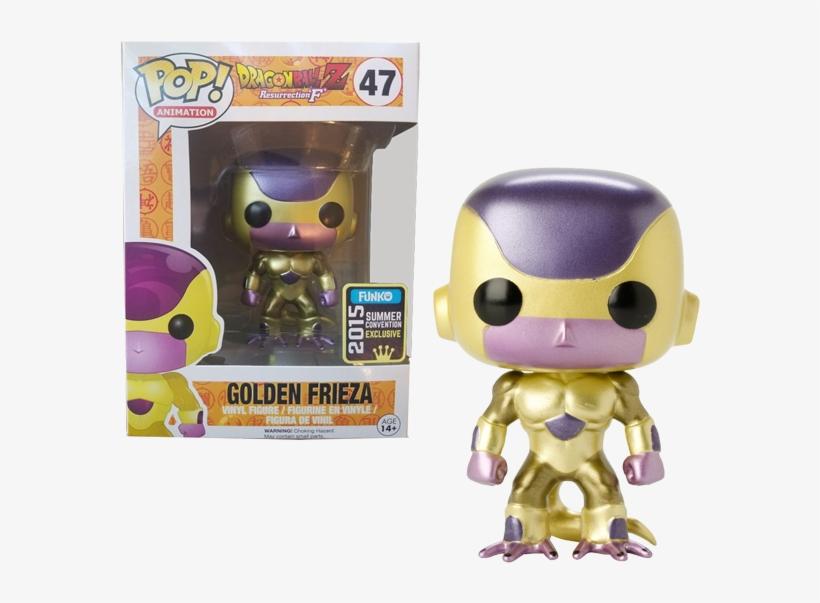 [hàng Đặt Trước] Đồ Chơi Mô Hình Funko Pop 47 Golden - Dragon Ball Golden Frieza Pop, transparent png #1960996