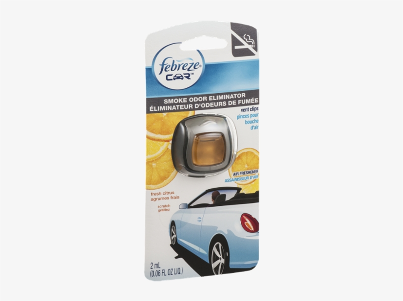 Febreze Car Air Freshener Vent Clip | Linen, transparent png #1961250
