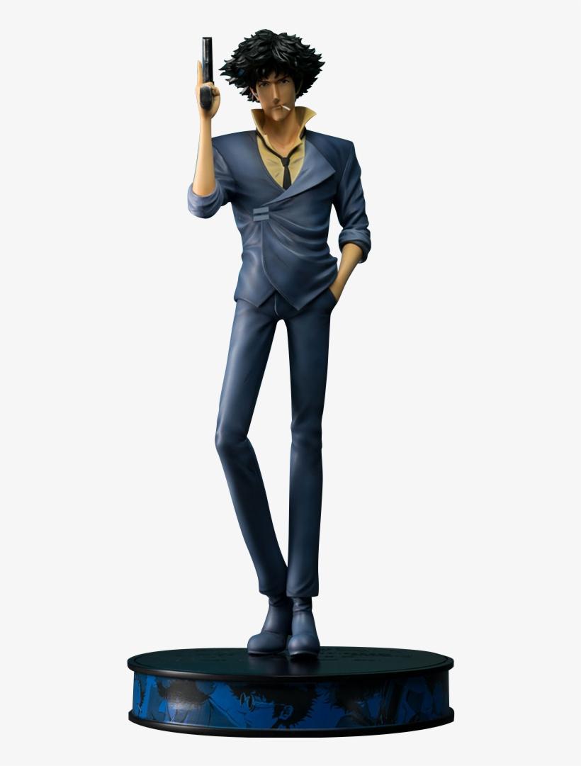 """5"""" Cowboy Bebop Statue Spike Spiegel - Cowboy Bebop Spike, transparent png #1961429"""