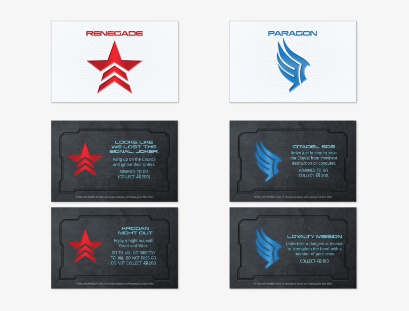 Custom Galactic Currency - Monopoly Mass Effect N7 Collector's Edition, transparent png #1964666