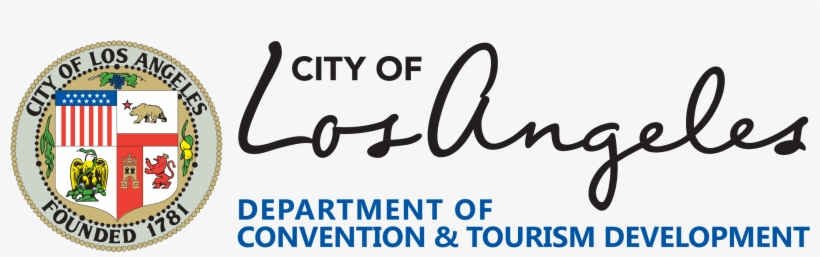 Logo For The Department Of Convention And Tourism Development - City Of Los Angeles Logo, transparent png #1964741