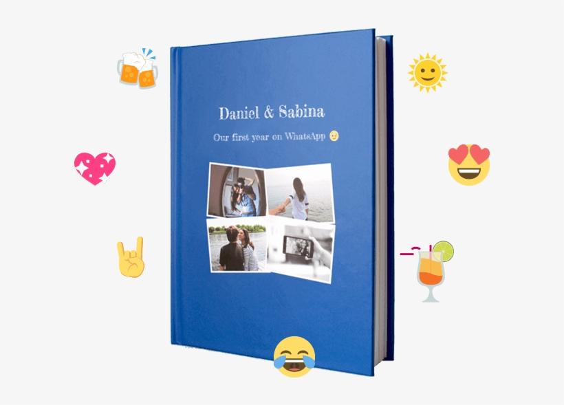 Facebook Messenger Chat Book Hardcover Zapptales - Facebook Book, transparent png #1965152