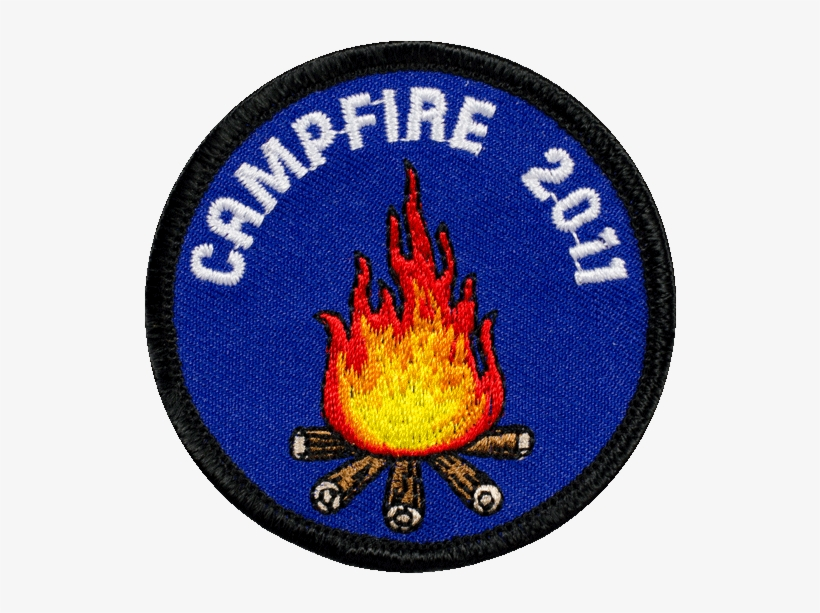 Girl Scout Campout Patch - Girl Scout Badges Png - Free