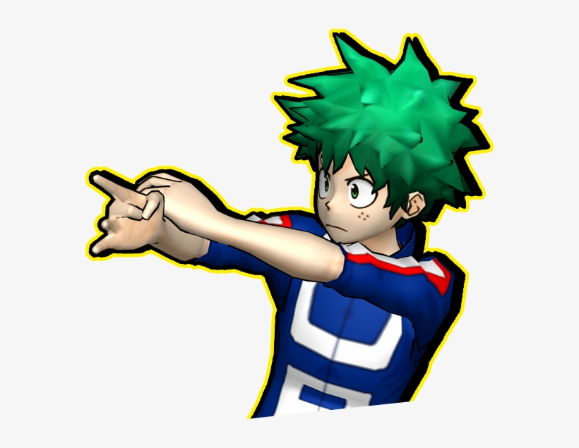 The Teaser Site For My Hero Academia - My Hero Academia Battle For All Png, transparent png #1967901