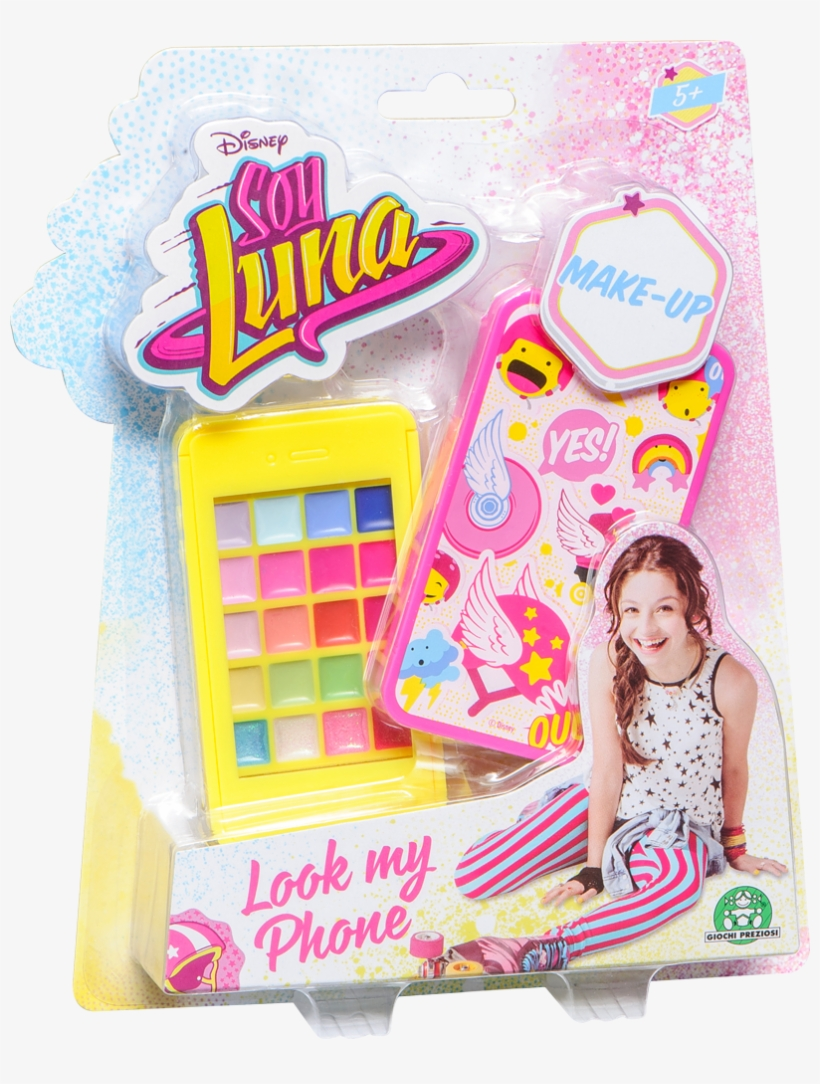 Soy Luna Look My Phone Make&amp - Soy Luna Look My Phone Make-up Chockrosa, transparent png #1968777