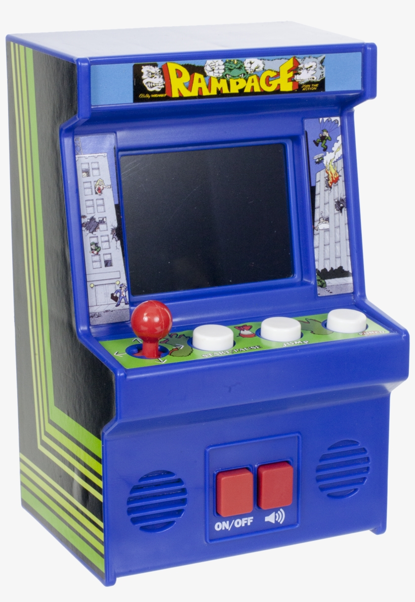 Walmart Mini Arcade Classics - Free Transparent PNG Download - PNGkey