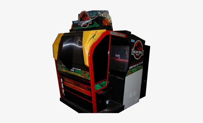 Tlw-vgarcade - Lost World Jurassic Park Arcade Game, transparent png #1969713